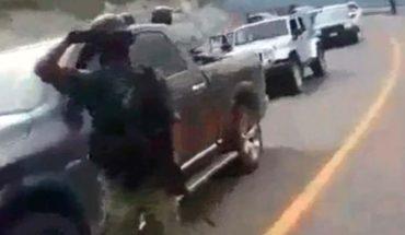 Indagan video de cártel en carretera