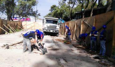 Inicia reconstrucción de edificio en el Multifamiliar Tlalpan