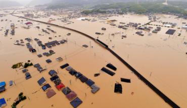 Japón enfrenta su peor inundación en décadas
