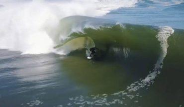 Koa Smith se monta dos minutos arriba de la ola soñada