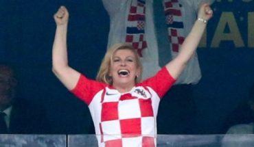 """Kolinda Grabar-Kitarovic, la popular presidenta """"hincha"""" de Croacia a la que acusan de defender políticas xenófobas"""