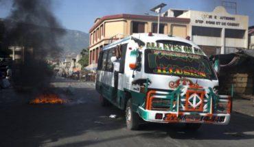 Llamado a huelga en Haití no afecta actividades comerciales