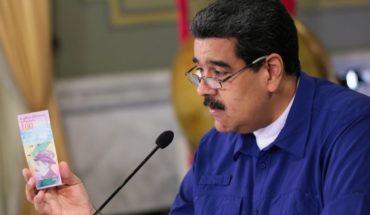 Maduro propuso la eliminación de cinco ceros en la moneda para enfrentar la inflación