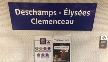 Metro parisino rebautiza seis estaciones en honor a los campeones del mundo