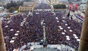 Militantes anti aborto se concentraron en la Basílica de Luján