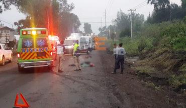 Motociclista y su acompañante fallecen tras ser arrollados por un tráiler en Jacona, Michoacán