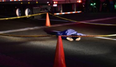 Muere arrollado un joven en la carretera México-15