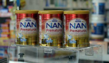 "Nestlé por fórmula con presencia de moho: ""No hay casos clínicos asociados"""