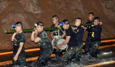 Niños atrapados en Tailandia, la difícil tarea de rescate