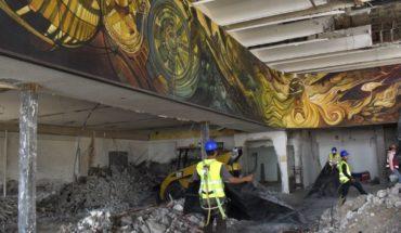 Obra mural de Eleazar Molina, en manos expertas