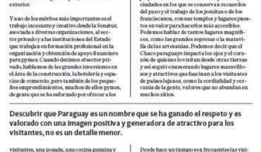 #Paraguay en boca de todos! #ParaguayCrece  ...