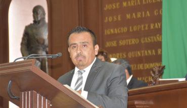 Parlamento Juvenil oportunidad para que jóvenes se expresen: Enrique Zepeda