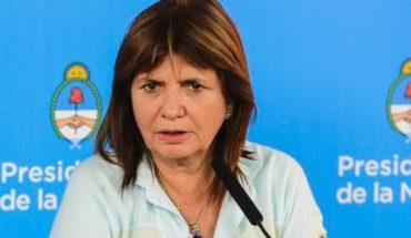 Patricia Bullrich descartó conflictos sociales en diciembre