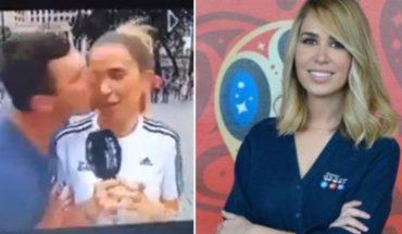 Periodista española es acosada por un aficionado en Rusia