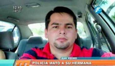 Policía mata a su hermana y luego se dispara en la cabeza (Vídeo)  Policía mató a su hermana y luego #paraguay  ...