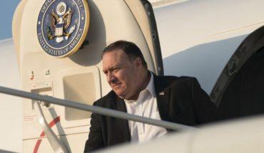 Pompeo viaja a México para reunirse con presidente electo