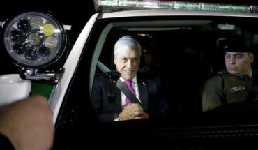 Presidente Piñera encabezó la quinta ronda nacional preventiva de Carabineros