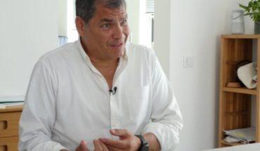 Presidente de Ecuador: Correa no es perseguido político