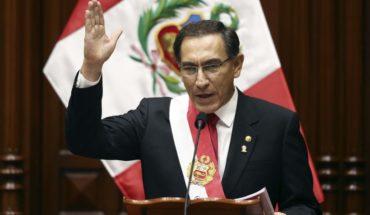 Presidente de Perú plantea referendo ante grave crisis por corrupción