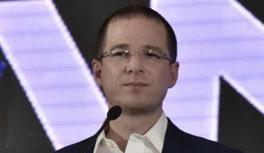 Ricardo Anaya reconoció la derrota en la carrera presidencial.