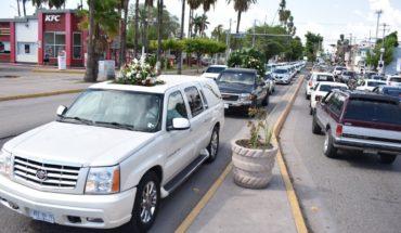 Protestan en Los Mochis por el asesinato de dos taxistas