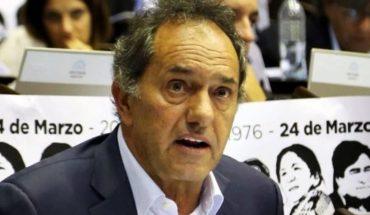 """Scioli tiene la expectativa de ser candidato a presidente"""