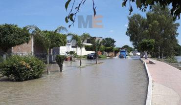 Se desborda el Lerma en Numarán; en riesgo de inundación más de 75 viviendas