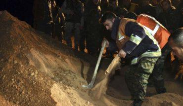Se necesita ayuda para excavar fosas comunes en Siria
