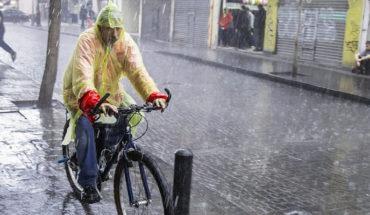 Se presentarán lluvias de fuertes a muy fuertes en gran parte del país