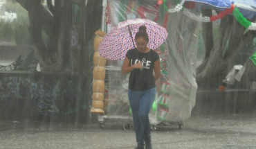 Se prevén tormentas puntuales fuertes en los estados del occidente, sur y sureste de México