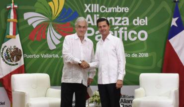 Sebastián Piñera se reunió con Presidentes de Brasil y México