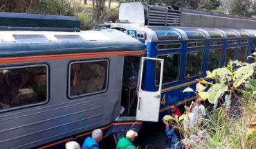 Seis chilenos resultaron heridos en choque de trenes en Machu Picchu