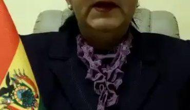 """Senadora de Bolivia graba un vídeo y tritura a Zapatero y a Iglesias. """"Como senadora de #Bolivia quiero denunciar que lo..."""