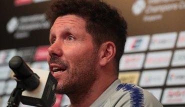 """Simeone, sobre el audio filtrado durante el Mundial: """"Si, era yo"""""""