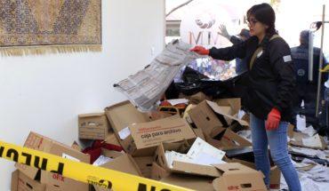 Simpatizantes de Morena se enfrentan a panistas en hotel de Puebla