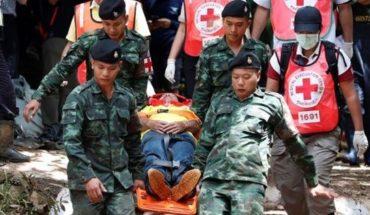 Tailandia: Los 13 atrapados dependen de la lluvia para poder salir