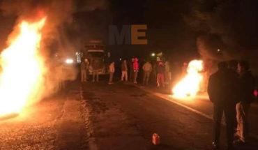 Tensión entre pobladores de Paracho y Capácuaro por la detención de presunto ladrón