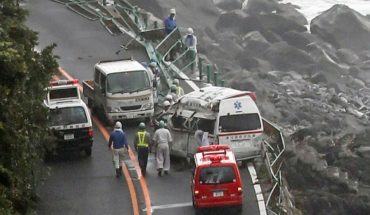 "Tormenta tropical ""Jongdari"" interrumpe el transporte en Japón"