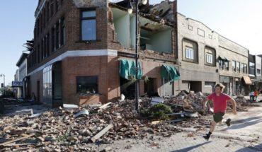 Tornados tocan tierra en Iowa dejando destrucción y 17 heridos