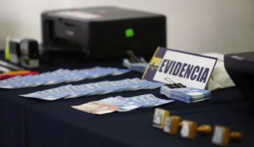 [VIDEO] Hombre fabricaba billetes falsos en Santiago para venderlos en todo el país