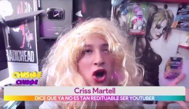 ¿Criss Martell trabajaría en la televisión?