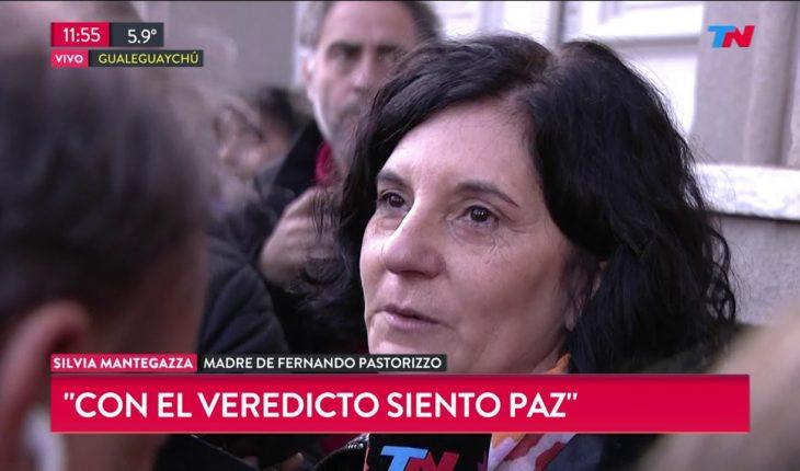 Caso Nahir: Habló la mamá de Fernando Pastorizzo