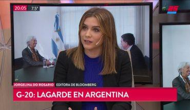 G-20: Lagarde en Argentina