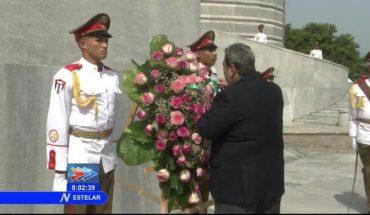 Homenaje al Héroe Nacional de Cuba