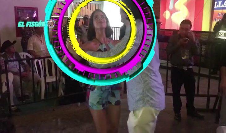La Red: El Fisgón captó a Andreína Solórzano | Caracol Televisión