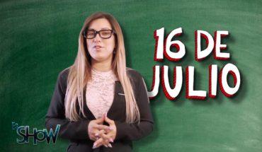 Las efemérides del 16 de julio