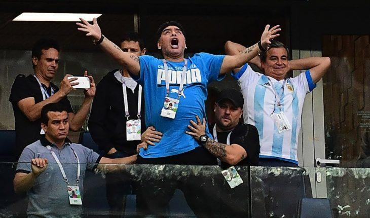 Maradona, protagonista de una de las imágenes más impactantes del Mundial | La Red