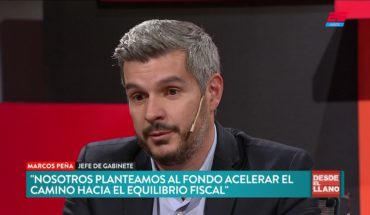 Marcos Peña sobre el acuerdo con el FMI