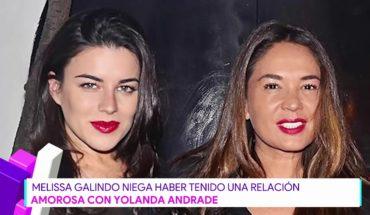Melissa Galindo habla de la supuesta relación Yolanda Andrade