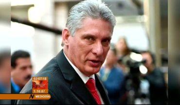 Miguel Díaz-Canel: Envió sus felicitaciones al mandatario electo de México